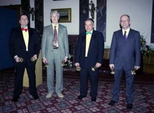 Handbell Ringers - Michael Wilby, Rod Pipe, John Warboys & David Hull