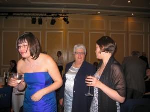 Anthea Edwards, Margaret Edwards & Fiona Wheeler