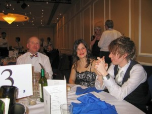 Phil Saddleton, Helen Roberts, Adam Slack