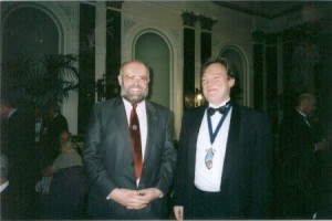 Speakers Chris Pickford and Master Richard Grimmett