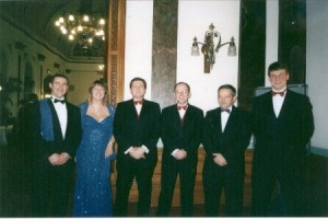 Two leads of Orion rung by (L-R); David Pipe, Stef Warboys, Michael Wilby David Hull, John Warboys and Tony Daw