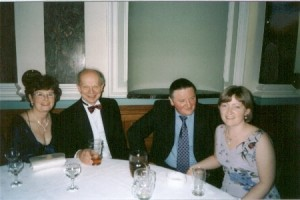 Gill and John Fielden with Paul and Mel Needham