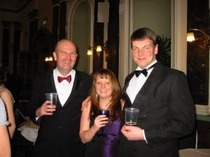 Jonathan Healy, Cecilia Pipe and Tony Daw
