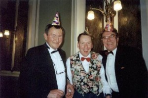 John Anderson, Martin Parry and Robin Boot