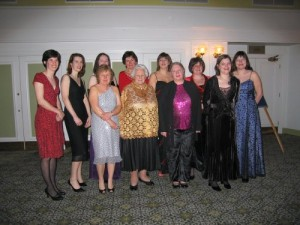 Ladies peal band with Muriel Reay