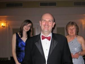 3 generations - Sarah Healy, Jonathan Healy & Chris Mills